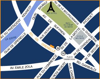 Mapa Y Acceso Hotel Europe Hotel Par 237 S Cerca De La Torre Eiffel